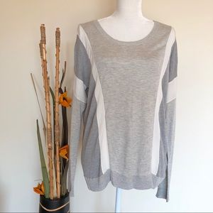 Haute Hippie | lightweight silk blend grey sweater